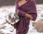 Reserved for Jess - Cozy Shawl