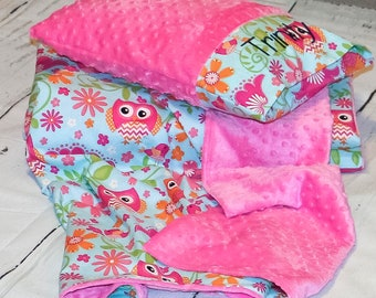 Kindermat Cover Nap Mat Cover Includes Pillow Blanket Cover
