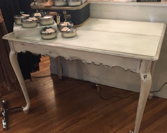 "Antique ""Abbey"" Shabby Chic Dining Table"