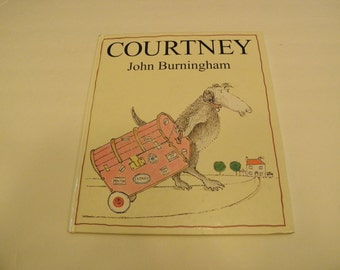 COURTNEY John Burningham 1994 Hardcover 1st edition 1st printing Children's Book