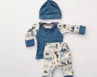 The Adventurer Infant Outfit (3pcs.)