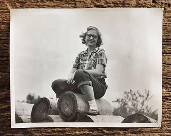 Original Vintage Photograph Sweet Sally