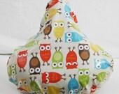 Bicycle Saddle Seat Cover Owls Urban Zoologie - Weatherproof