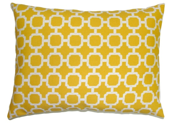 PILLOW.YELLOW PILLOW.12x16 or 12x18 inch.Pillow.Decorative Pillows.Housewares.Yellow Outdoor..Indoor.Outdoor.Yellow Cushion Cover.Pillow.Cm