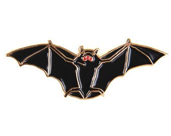 Bat - Enamel Lapel Pin