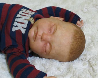 "Reborn Baby, ""Cole"",  Reborn Baby Boy, Tracy Kit, Reborn Doll, Ready to Ship"