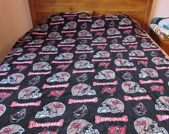Tampa Bay Buccaneer Stadium Fleece Blanket Throw