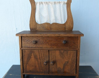Handmade Small Antique Wash Stand
