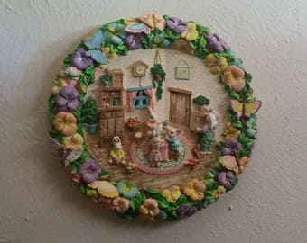 Vintage Easter Wall Decor