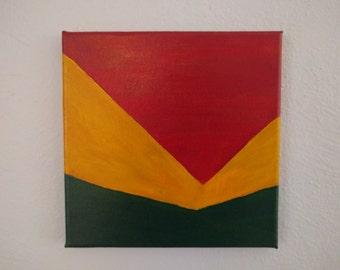 Teanaway - 8x8 Original Acrylic Painting on Canvas