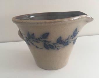 Vintage 1993 Salmon Falls Pottery Batter Bowl New Hampshire