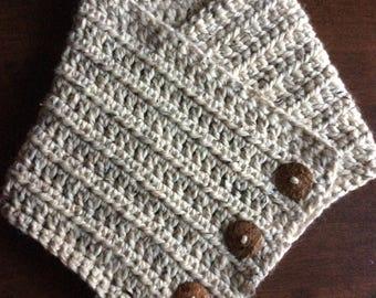 Crochet Pattern // Bridgett Cowl // Digital Download // Easy // Tutorial