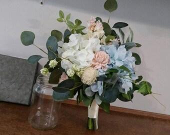Wedding Bouquet, Sola wood bouquet, Silk Bouquet, Boho Bouquet, bride Bouquet, Bridal Bouquet, , Faux Bouquet, bohemian , Bridal bouquet