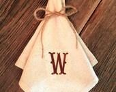 Cloth Napkins, Western Napkins, Embroidered Napkins, Monogrammed Napkins, Rustic Napkins, Farmhouse Napkins, Western Dinnerware