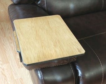Oak Swivel Armrest Adjustable Table - New Product -