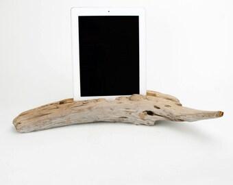 Docking Station, Driftwood iPad dock, iPad Charger, iPad Charging Station, driftwood ipad dock, wood ipad dock/ Driftwood- No. 976