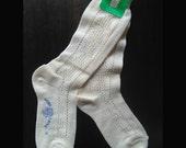 Italian Vintage wool socks sz 6