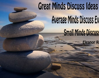 Great Minds-Downloadable Fine Art Print-Will look Beautiful On Any Wall At Home Or The Office