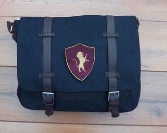 Gryffindor Messenger bag Harry Potter satchel canvas