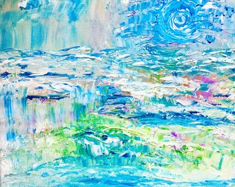 Waters Restore Original Painting