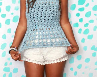 READY TO SHIP! Original Handmade Crochet Tunic!