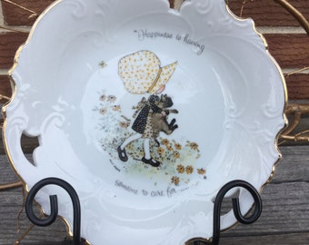 Vintage Holly Hobby Plate