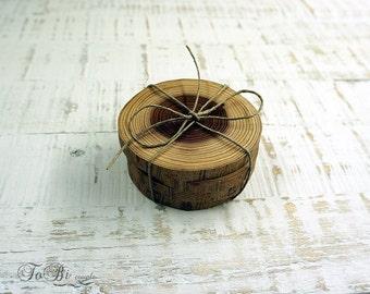 Set Of 4 Elm Slices Wooden Slices