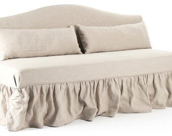 Custom Daybed Slipcover-Armless