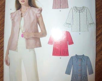 Simplicity New Look Women's Jacket Pattern 6942 Sizes 4-16