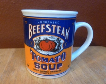Campbell's Soup Beefsteak Tomato 1994  125TH Anniversary mug