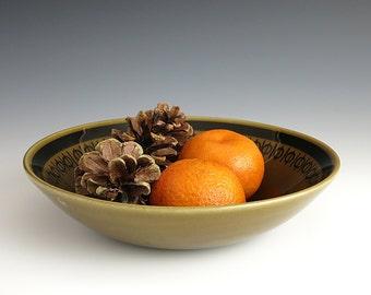 Stavangerflint Sera Cereal or Soup Bowl - Inger Waage Design - Stavangerflint Norway - Scandinavian Pottery - Norwegian Ceramic Pottery