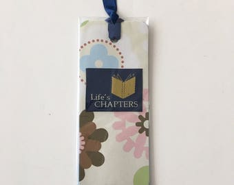 Floral Bookmark Book Lover Gift book accessories journal accessories planner accessories