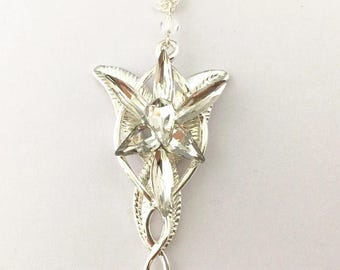 Arwen Evenstar necklace Lord of the Rings inspired