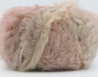 SALE Celestial Fuzzy Soft Merino and Acrylic Blend Yarn - Misty Morning