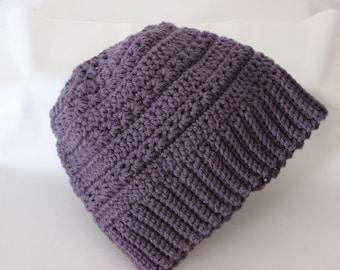 Messy Bun Hat, Messy Bun Beanie/Toboggan, Ponytail Hat, Ponytail Beanie, Crochet Winter Hat, Adult and Child Sizes