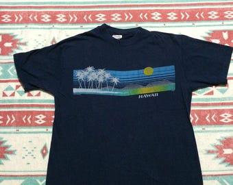 Vintage Paradise Scene Hawaii T-Shirt