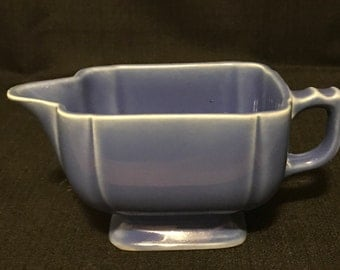 Art Deco Creamer Blue