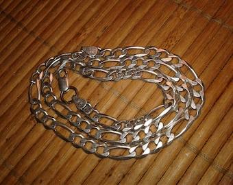 Sterling Silver Necklace Men Vintage 925 Italy
