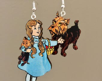 Dorothy and Toto Earrings