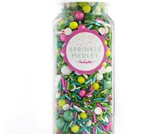 Sweetapolita Sprinkles Medley- Cactus Party 8oz. (Net wt. 5.8oz)