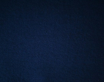 "Navy Blue Cotton Spandex Jersey Fabric 60"" Wide  15 Yards Wholesale"