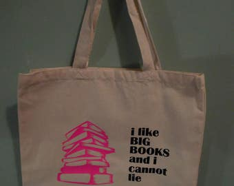 I Like Big Books Library Bag