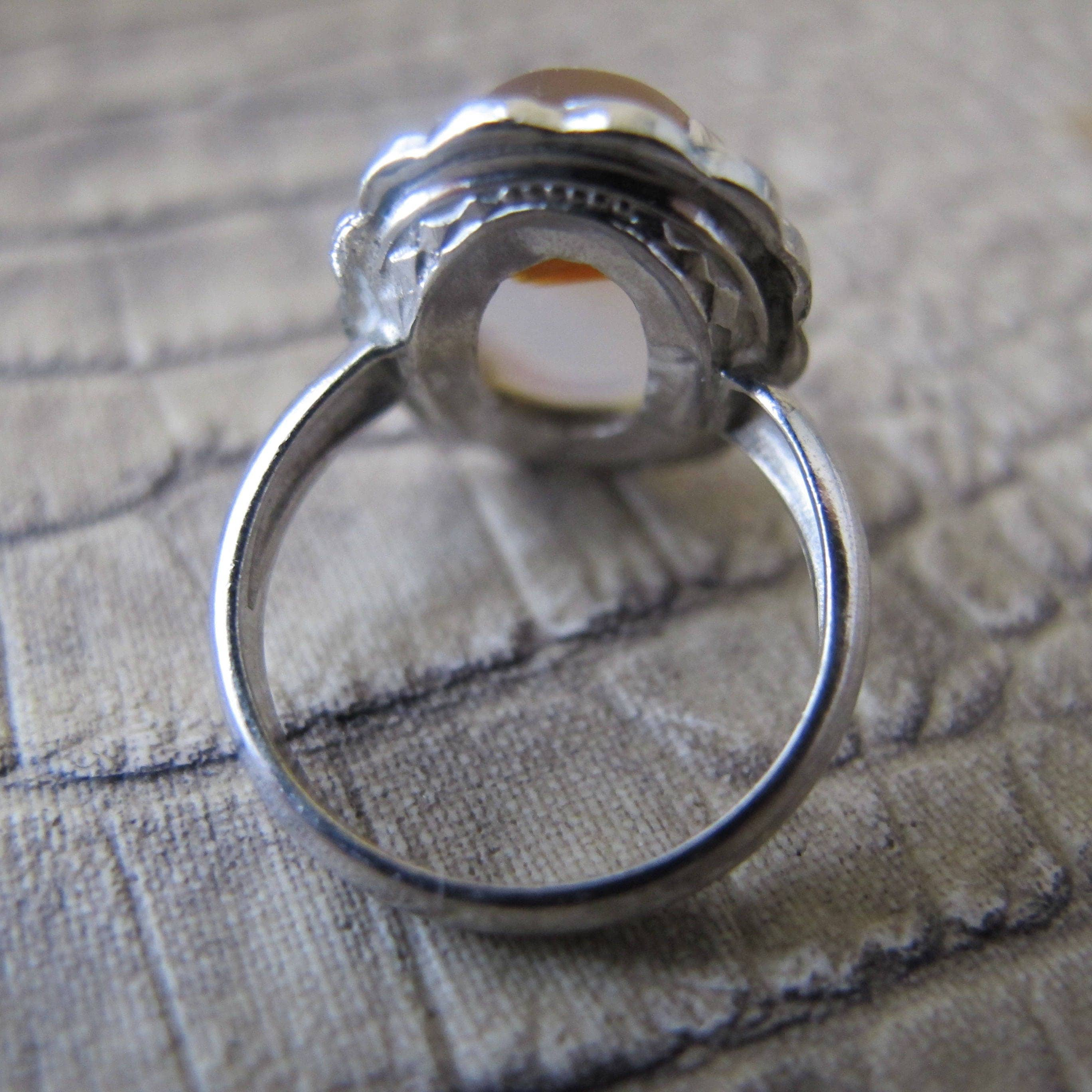 shop with rings ring yemeni silver handmade agate detail myrings