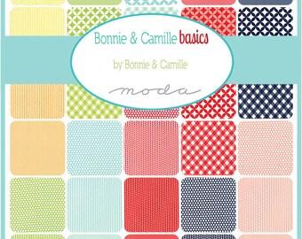 Bonnie & Camille Basics Mini Charm Pack by Bonnie and Camille for Moda