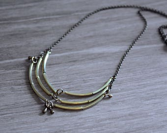 Geometric necklace - Geometric Statement Jewelry - Trend Jewelry