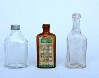Pharmaceutical bottle trio