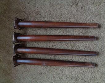 Vintage , Mid Century , Table Legs , Table Legs, Round ,Tapered, Paul McCobb Style Legs