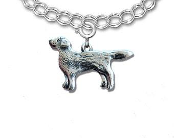 Sterling Silver Labrador Retriever Whole Body Charm