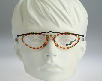 Robert Rudger Mod 550 89  / Vintage eyeglasses & sunglasses / 90S unique and rare