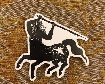 Lady Centaur Sticker